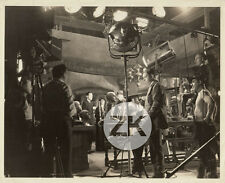 THE FLORENTINE DAGGER Têtes de Cire WAX Camera Tournage HECHT FLOREY Photo 1935