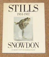 Stills - 1984 1987 By Lord Snowdon
