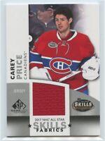 2017-18 SP Game Used 2017 NHL All-Star Skills Fabrics Jersey U-Pick