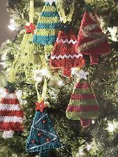 FCx3 - Knitting Pattern - Christmas Tree - Mini Decorations