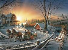 BUFFALO GAMES JIGSAW PUZZLE PLEASURES OF WINTER TERRY REDLIN 1000 PCS #11588
