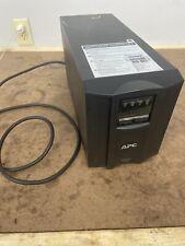 APC SMT1000 Smart-UPS 1000VA 700W 120V LCD Tower Power Backup Re. Running Equip.