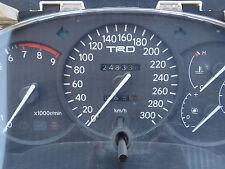 JDM Toyota Celica T200 GT Four TRD TOM'S 300KM Speedo Meter Cluster Gauges OEM