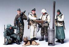 35212,Tamiya 1:35, Deutsche Figuren Set, Befehlsausgabe, 5 Figuren, WWII, GMK