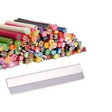 100pcs Nail Art Fimo Canes Rods + Cuchilla Decoración