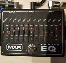 MXR Ten 10 Band EQ Guitar or Bass pedal.........Power source not included
