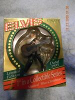 ELVIS DOUBLE LIMITED EDITION Heirloom Collection Musical Ornaments 1995-96