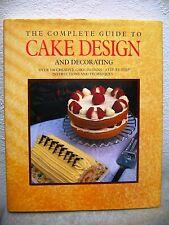 Complete Guide Cake Design Decorating Book 1990  1st Ed HCDJ Suzy Powling