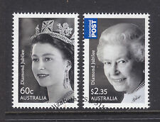 2012 DIAMOND JUBILEE SET OF 2   SUPERB USED EX FDC.