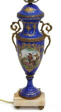 Lamp, Sevres Style, Hand Painted Figural Scene,Table, Exquisite Vintage!
