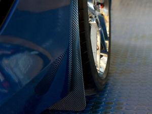 2014-2019 C7 Corvette Stingray Mud Guards 4Pc with Carbon Fiber Wrap
