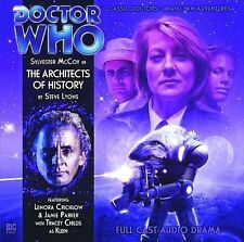 The Architects of History by Steve Lyons (CD-Audio, 2010) DOCTOR WHO