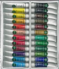 REEVES 24 PC ACRYLIC PAINT SET WITH PALETTE KNIVES ~ NEW!!