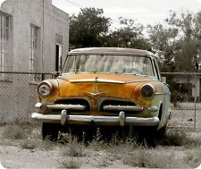 Old Rusty Car Thick Mouse Pad