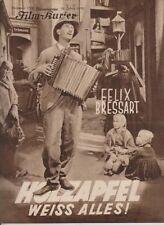 HOLZAPFEL WEISS ALLES (BFK 1728, 1932) - FELIX BRESSART