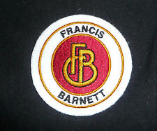 CLASSIC FRANCIS BARNETT MOTORCYCLE EMBROIDERED PATCH-VILLIERS