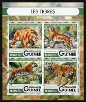 GUINEA 2016 THE TIGERS SHEET MINT NH