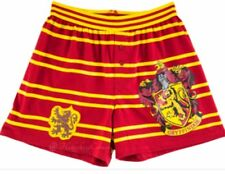 Harry Potter Wizarding World Universal Studios Gryffindor Stripe Boxer/ Small