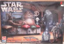 1995 STAR WARS Jabba's Throne Room Model Kit-MPC-FREE S&H (SWMO-8262)