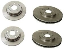 Honda Accord Coupe Acura Set of 4 Brembo Disc Brake Rotors 2 Front 2 Left New