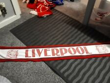 Vintage Liverpool Football Supporters Scarf