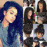 100% 8A Top Grade Brazilian Human Hair Full Lace Wig 360 Lace Front Wig Curly sm