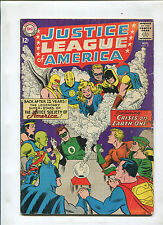 JUSTICE LEAGUE OF AMERICA #21 (5.0) REINTRO JSA 1ST SA DR. FATE AND HOURMAN