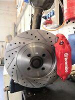 BMW Adaptor E30 braking system, brake disc 312x25 4x100 Motorsport tuning m3 vw