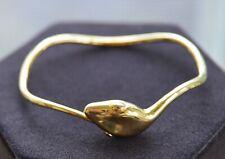 TORY BURCH Snake Gold Plated Bangle