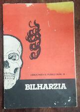 Bilharzia Libros para el pueblo num 16 por Benji Donniger y Fred Wale 1968