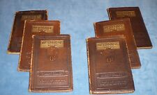 """Antique Vintage """"The Book of Life"""" Volume 1-6 By Robert Collier 1925 Autographed"""