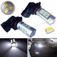 2 X HID White 9005 HB3 21W 2538 Headlight Headlamp LED Bulbs US Seller