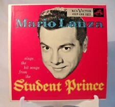 "45RPM ""THE STUDENT PRINCE"" MARIO LANZA Cover VG+  Record varies  45EP-ERB 1837"