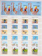 "1996 BENIN -  4 Sets+4 Sheets ""OLIMPIADA ATLANTA 96, OLYMPIC GAMES "" NEW MINT"