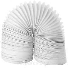 """SIEMENS Strong PVC Tumble Dryer Vent Hose Long Vented Condenser Pipe 4m x 4"""""""