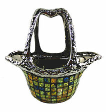 "Decorative Ceramic & Glass Flower Vases Purse Bag 12.5"" x 6.5"" x 12""(H) DMCV005"