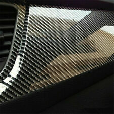 Auto Accessories 7D Glossy Carbon Fiber Vinyl Film Car Interior Wrap Stickers