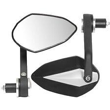 Ryde Black Diamond Universal Moto 22mm bar End Mirrors motorbike/bike Par
