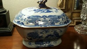 Masons Ironstone  Tureen  Vegetables /Soup serving Bowl