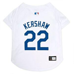 CLAYTON KERSHAW #22 Los Angeles Dodgers MLBPA Licensed Dog Jersey Sizes XS-XL