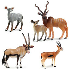Gemsbok Impala Antelope South Africa Gazelle Eland Model Figure Collector Toys