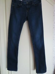 Ladies Blue Jeans 'Real Straight', Gap, Size: 30L