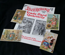Dave Cheadle Trade Cards Store Sampler 4x Sewing Victorian Trade Cards +ATCQ Mag