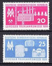 DDR 1959 Mi. Nr. 678-679 Postfrisch ** MNH