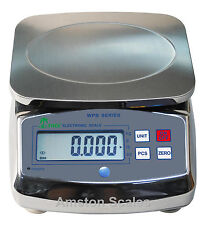 13 x 0.001 Lb Digital Scale Washdown Water Proof Kitchen Food Portion Control