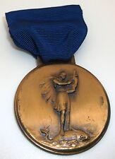 WHITEHEAD & HOAG Co. Newark, NJ Olympic god Medal 1930s
