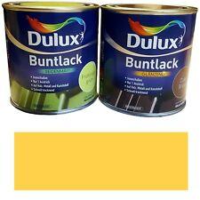 Dulux 5194600 Buntlack seidenmatt Sommergelb