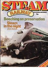 Steam Railway Magazine Issue No.# 3 Three - NOV-DEC 1979 GOOD Condition