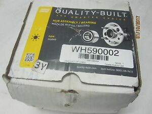 New WH590002 Wheel Bearing and Hub Assembly Rear QUALITY-BUILT 512512