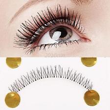 10 Pairs Lower Under Bottom Eye Lashes Natural Soft False Eyelashes Handmade